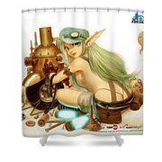 Neo Steam Shower Curtain