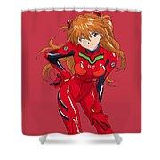 Neon Genesis Evangelion Shower Curtain