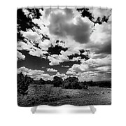 New Mexico Clouds Shower Curtain