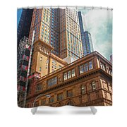 New York Buildings Shower Curtain