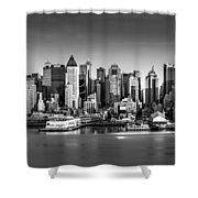 New York City Panorama Shower Curtain