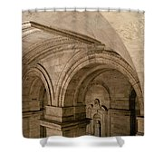 New York Library Shower Curtain