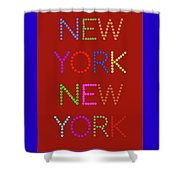 New York No 1 Shower Curtain