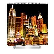 New York New York Hotel Shower Curtain