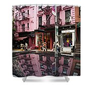 New York Soho  Shower Curtain