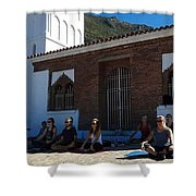 Nice View From Chefchaouen Morocco Shower Curtain