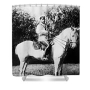 Nicholas II (1868-1918) Shower Curtain