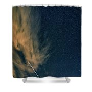 Night Journey Shower Curtain