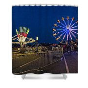 Night Riding 2 Shower Curtain
