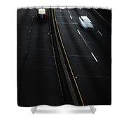 Night Traffic Shower Curtain