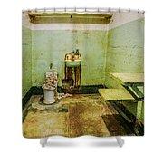 Alcatraz Cell 1 Shower Curtain