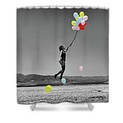 No Title Shower Curtain