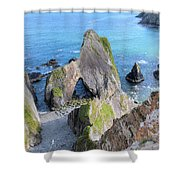 Nohoval Cove - Ireland Shower Curtain