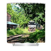 Norfolk Southern Shower Curtain