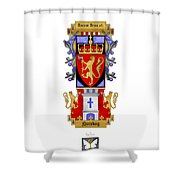 Norskog Coat Of Arms Shower Curtain
