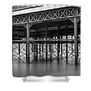 North Pier Blackpool Shower Curtain