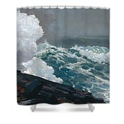 Northeaster, 1895 Shower Curtain