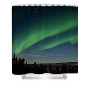 Northern Lights - Fairbanks Alaska Shower Curtain