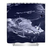 November Creek 3 Shower Curtain