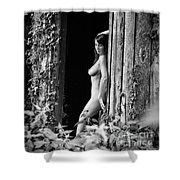 Nude Art Photography By Mary Bassett Shower Curtain
