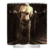 Nude Woman Model 1722  027.1722 Shower Curtain