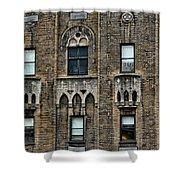 Ny Bricks 3 Shower Curtain