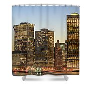 Ny Downtown Shower Curtain
