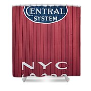 Nyc 19322 Shower Curtain