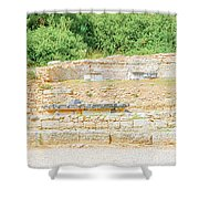 Nympheum Water Fountain To Herdoes Atticus In Olympia Greece  Shower Curtain