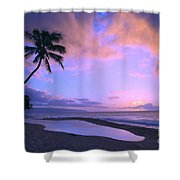 Oahu, North Shore Shower Curtain