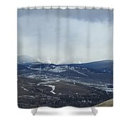 Obscure Horizons  Shower Curtain