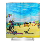 ocean/ Beach Shower Curtain