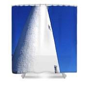 Ocracoke Island Light House Shower Curtain