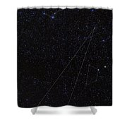 Octans, Apus, South Celestial Pole Shower Curtain