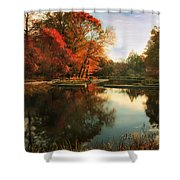October Finale Shower Curtain