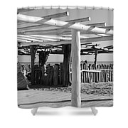 1 Of 55 Reasons To Visit Saint - Tropez Shower Curtain