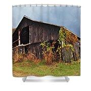 Ohio Barn In The Fall Shower Curtain