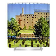 Oklahoma City National Memorial Shower Curtain