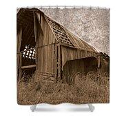 #210 Old Barn Shower Curtain