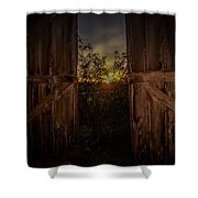 Old Barns Shower Curtain