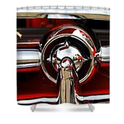 Old Car Grille Shower Curtain