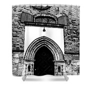 Old Cathedral In Turku Shower Curtain
