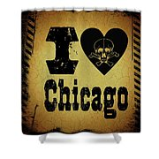 Old Chicago Shower Curtain