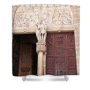 Old Church Door Shower Curtain