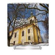 Old Church Shower Curtain