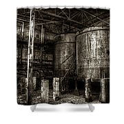 Old Crow Mash Shower Curtain