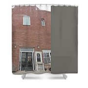 Western Storefront Shower Curtain