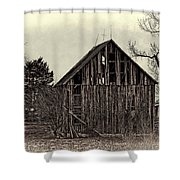 Old Days Shower Curtain