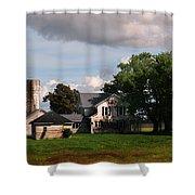Old Farm Shower Curtain