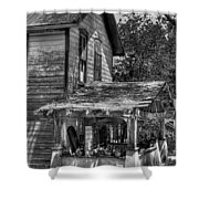 Old House Shower Curtain